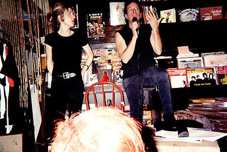 Legs McNeil and Gillian McCain